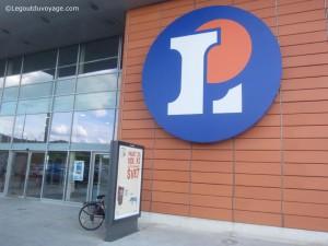 Leclerc à Ljubljana - supermarché