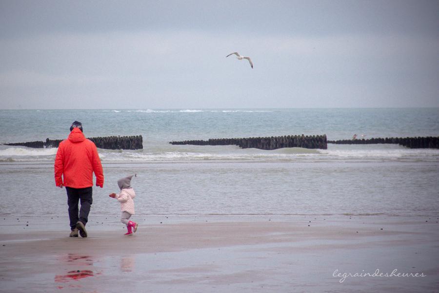 plage de Tardinhen en hiver