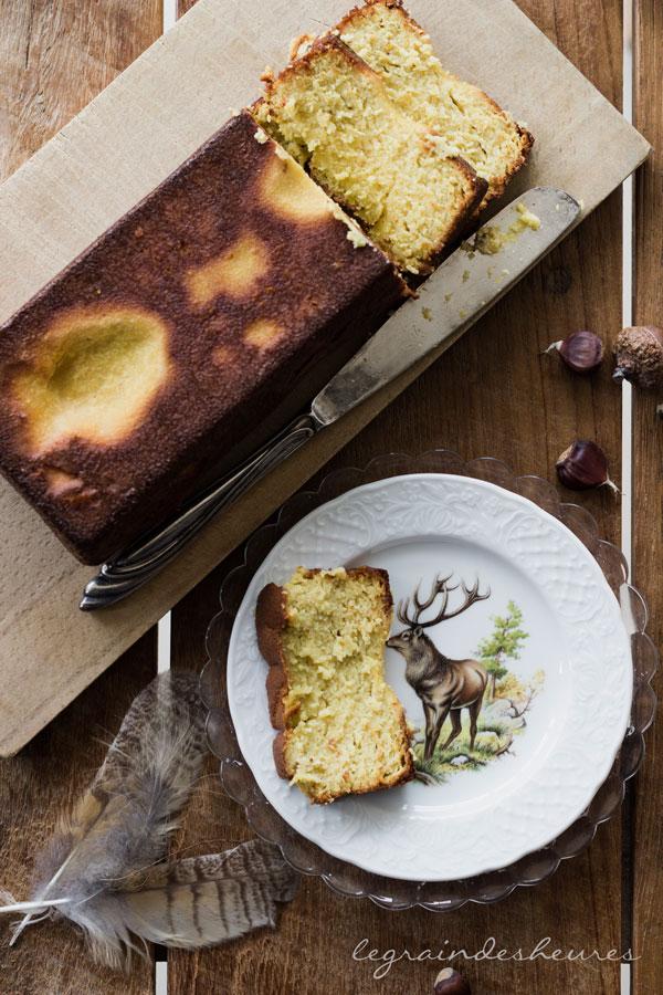 gâteau aux poires sans gluten