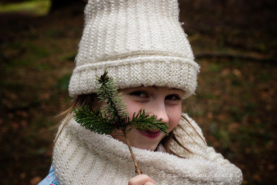 dans les bois, camouflage