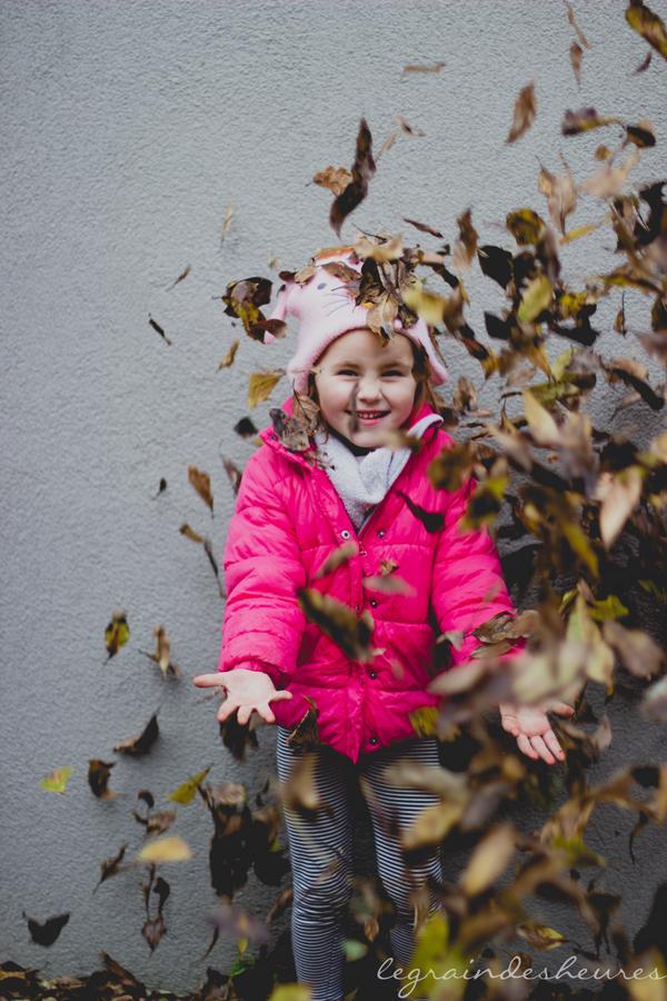 bataille de feuilles
