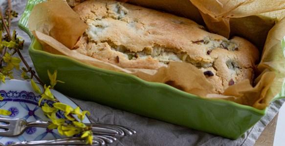 Gâteau rhubarbe-coco