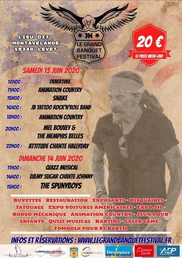 Affiche le grand banquet festival 2020
