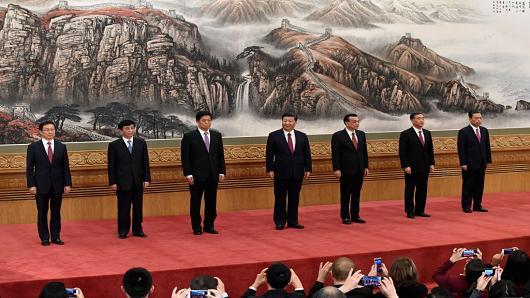 Polit buro China 2017