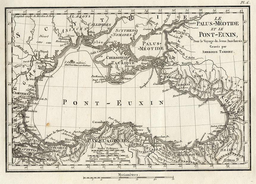 La Mer noire en Europe