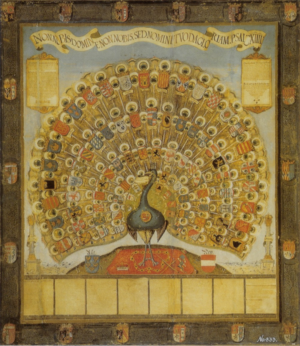 Habsburger_Pfau_1555