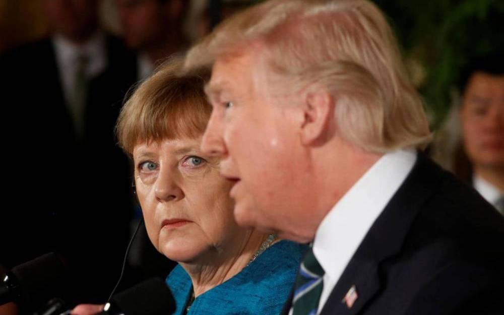 Trump-Merkel : I love you, ich auch nicht
