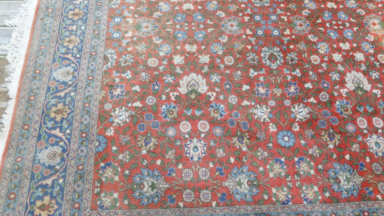 grand tapis hereke 295 209 cm tapis turque fait main laine