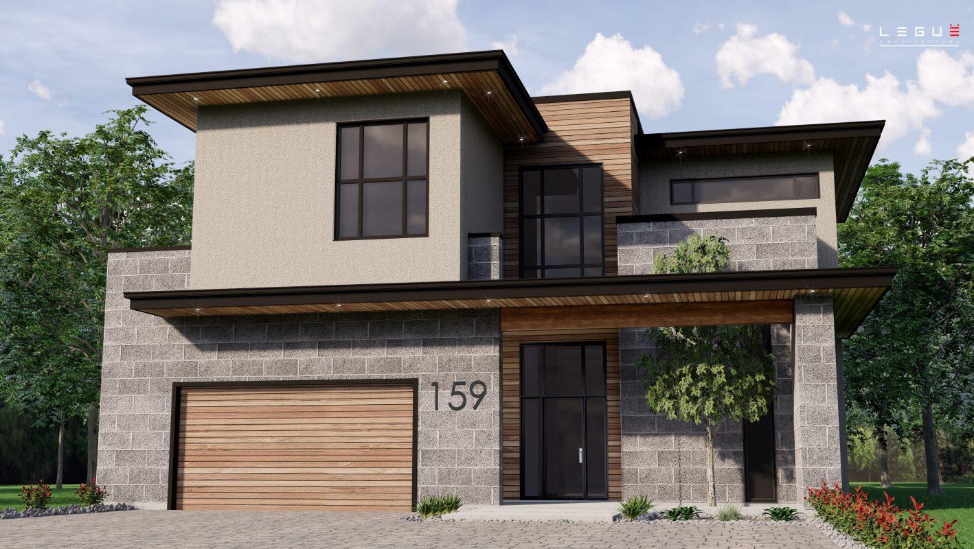 Superbes Plans De Maison Avec Garage Legue Architecture