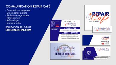 Community Management/Design Repair Café Retiers | 2016/2017