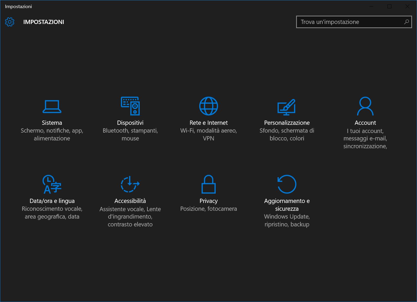 Abilitare Tema Nero Windows 10 Le Guide Di Federico83