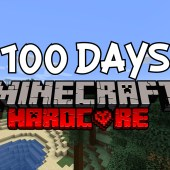 I Survived 100 Days in Hardcore Minecraft… Here's What Happened