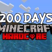 I Survived 200 Days in Hardcore Minecraft… Here's What Happened