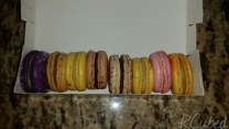 L-R: Blackberry Lemon, Salted Caramel, Bananas Foster (x2), Hazelnut, Chicory, Strawberry, Peaches & Cream