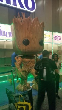 Giant Groot at the Funko booth. Can I take him home?