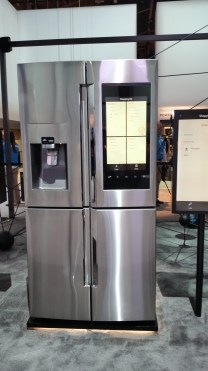 Samsung Family Hub Refrigerator. Currently the smartest fridge out there.