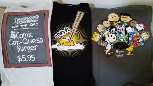 Got into apparel more this year. These shirts from toddland, Sanrio, and Tokidoki are awesome!