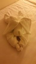 Dog towel buddy #1
