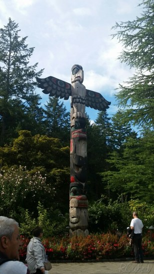 1 of 2 totem poles.
