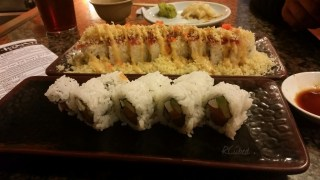 Hikari Express and Philadelphia rolls