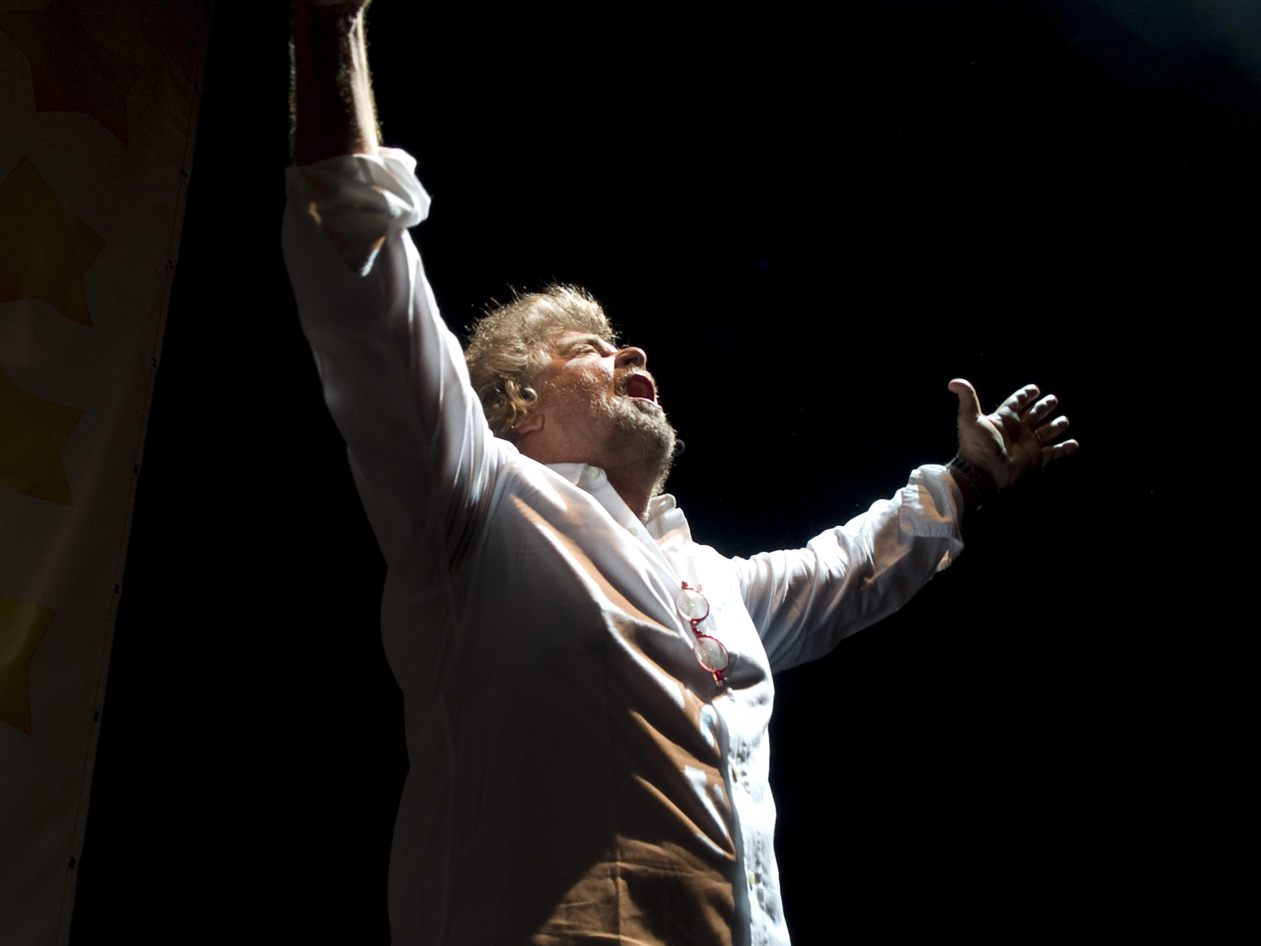 Grillo im Teatro Smeraldo (Foto: Luca Faccio)
