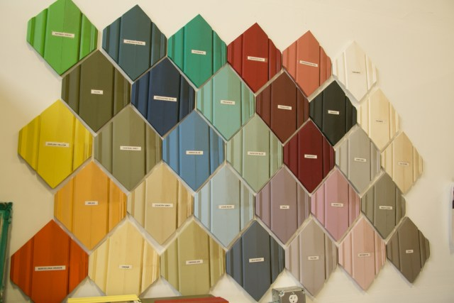 Annie Sloan Chalk Paints are safe for the home and come in a variety of colors.