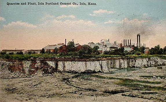 Lehigh Portland Cement Company - Quarry Postcard