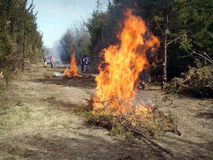Lehigh Portland Trails- Fire