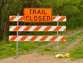 Lehigh Portland Trails Temporarily Closed For Construction