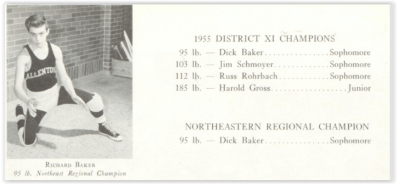 Allen Has 4 District Champs (Image Courtesy of Allentown H.S. Yearbook)