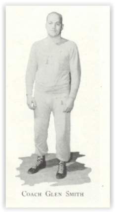 Coach Glenn Smith Led Allentown to its 26th Straight Win (Photo Courtesy of Allentown H.S. Yearbook)
