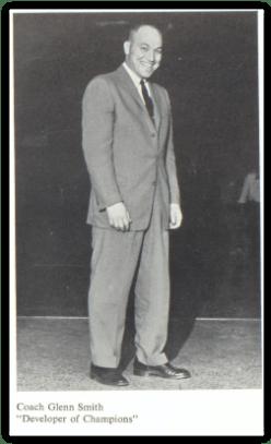 Allen's Coach Glenn Smith (Photo Courtesy of William Allen H.S. Yearbook)