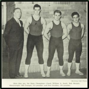 Bethlehem 1940 State Champs (Photo Courtesy of Bethlehem H.S. Yearbook)
