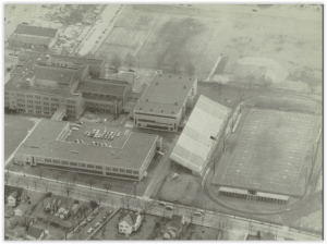 Memorial Gym circa 1956 (Photo Courtesy of Bethlehem H.S. Yearbook)