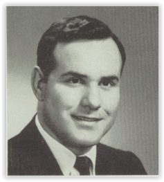 Bill Krebs, First Emmaus Coach (Photo Courtesy of Emmaus H.S. Yearbook)