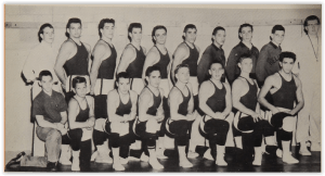 First Hellertown Wrestling Team (Photo Courtesy of Hellertown H.S. Yearbook)