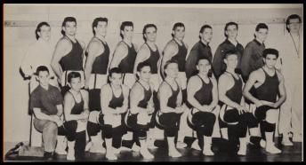 First Hellertown Wrestling Team (Photo Courtesy of Hellertown H.S. Yearbook)