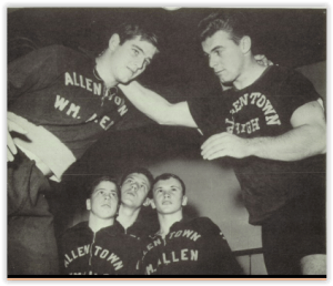 Allen Coach Dick Baker (Photo Courtesy of Allen H.S. Yearbook)