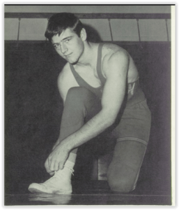 George Jenkins was a key performer for the Canaries (Photo Courtesy of Allen H.S. Yearbook)