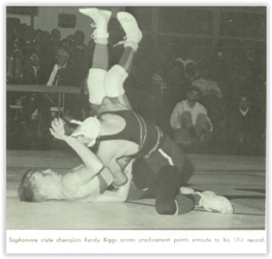 Randy Biggs Won a State Title as a Sophomore (Photo Courtesy of Bethlehem Liberty H.S. Yearbook)