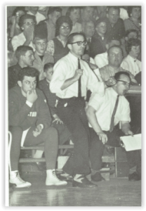 Rover Coach John Maitland in Action (Photo Courtesy of Easton H.S. Yearbook)