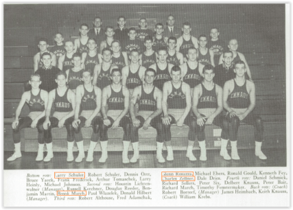 The Emmaus Hornets Pulled a Major Upset Over Allen (Photo Courtesy of Emmaus' H.S. Yearbook)