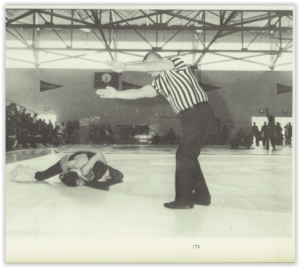 Steve Huddleston Had a Huge Fall (Photo Courtesy of Emmaus H.S. Yearbook)