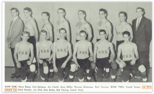 Beginning of a Winning Tradition for the Stateliners (Photo Courtesy of Phillipsburg H.S. Yearbook)