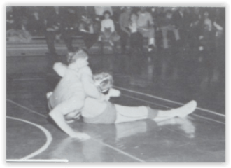 Parkland's Anchor Hwt. John Ebert (Photo Courtesy of Parkland H.S. Yearbook)