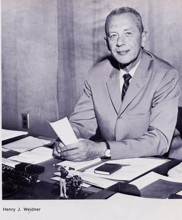 Dieruff Principal Henry J. Weidner (Photo Courtesy of Dieruff H.S. Yearbook)