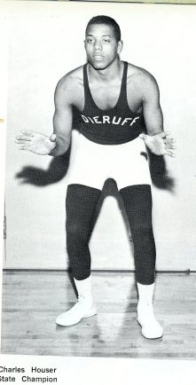Dieruff's 2nd State Champ - Charlie House (Photo Courtesy of Dieruff H.S. Yearbook)