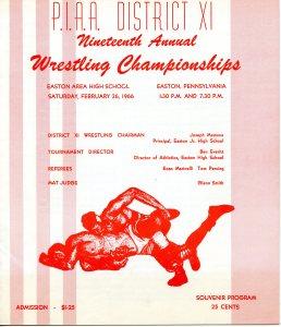 District XI Wrestling
