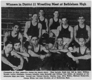 1947 District Wrestling Champions