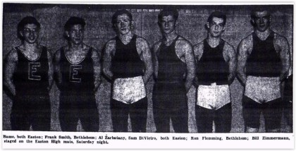 1952 District XI Wrestling Champs